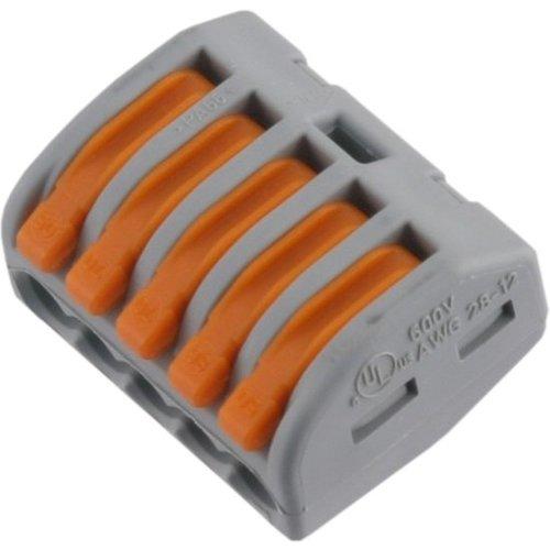 Wago WAGO Lasklem 5-voudig 0,8-4 mm² hersluitbaar ( oud )
