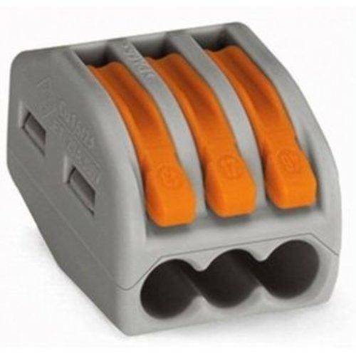 Wago WAGO Lasklem 3-voudig 0,8-4 mm² hersluitbaar ( oud ) - Copy