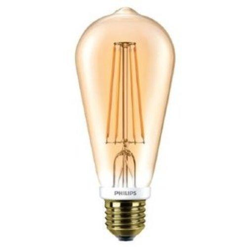 Philips CLASSIC LED EDISON 7W-55W E27 ST64 825 GOLD DIMBAAR
