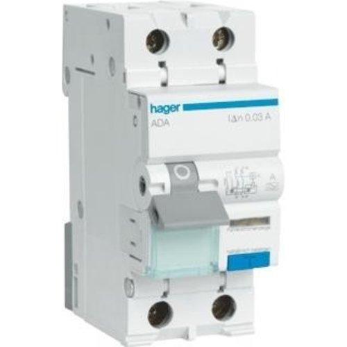 Hager Hager Aardlekautomaat 16A C-kar ADA966G