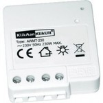 KlikAanKlikUit Mini inbouwzender voor installatie achter een enkele of dubbele lichtschakelaar