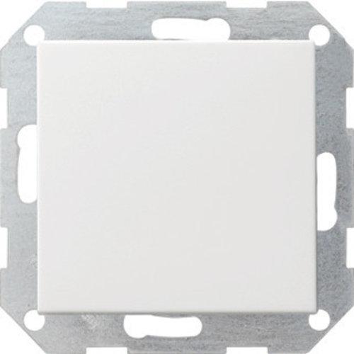 Gira GIRA drukvlakschakelaar kruisschakelaar systeem 55 Zuiver wit (hagelwit) 012703