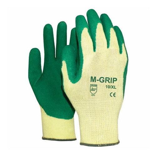 Werkhandschoenen Groen / Beige maat XL Grip