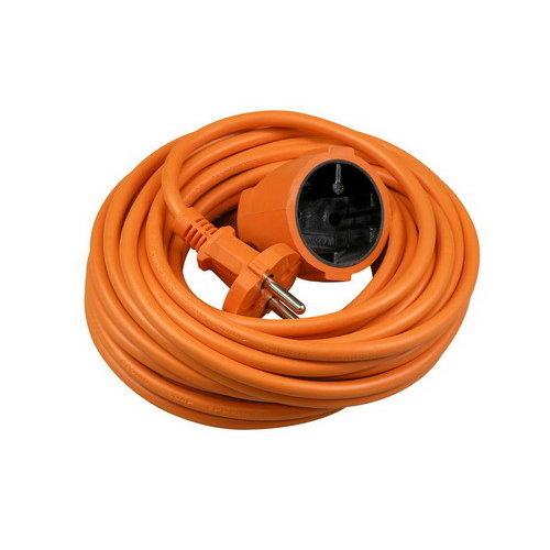 Verlengsnoer 10 meter 2X1MM H05VV-F oranje