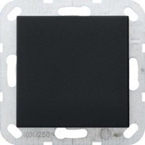 Gira Gira blindplaat Mat Zwart 0268005