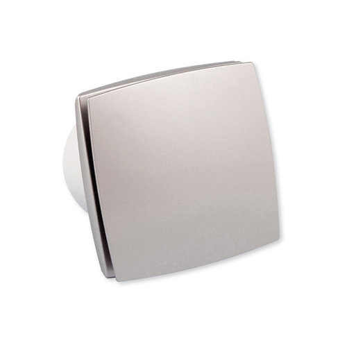 Nedco badkamer/toiletventilator aluminium LD 100