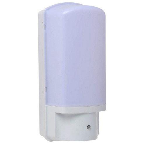 BigBright Buitenlamp Wit Met Schemersensor - Fitting E27
