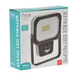 Nova LED straler SL410S Slimline 10W 4000K 900 lumen +Sensor