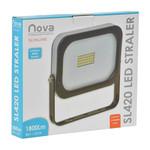 Nova LED Straler / Bouwlamp SL20 Slimeline 20 Watt - 4000K - 1800 Lumen