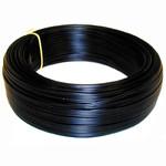 VMVL snoer H05VV-F zwart 2 x 1 mm2 per meter