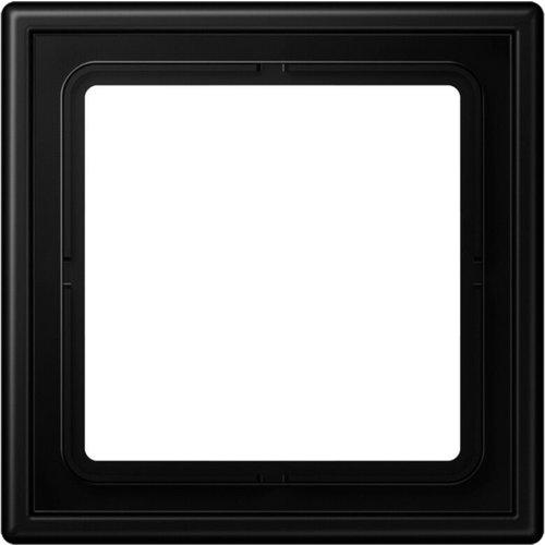 Jung JUNG LS990 afdekraam 1-voudig grafietzwart mat LS981SWM