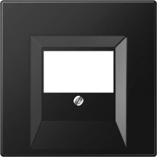 Jung JUNG LS990 centraalplaat multimedia grafietzwart mat LS969TSWM