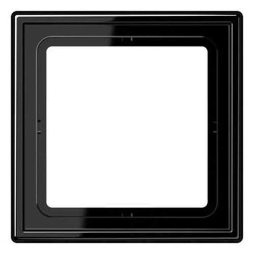 Jung Jung LS990 afdekraam 1-voudig zwart - LS981SW