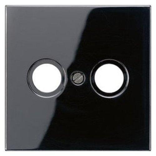 Jung Jung LS range afdekking voor cai zwart - LS990TVSW