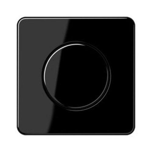 Jung Jung CD500 afdekking voor draaidimmer zwart - CD1540SW