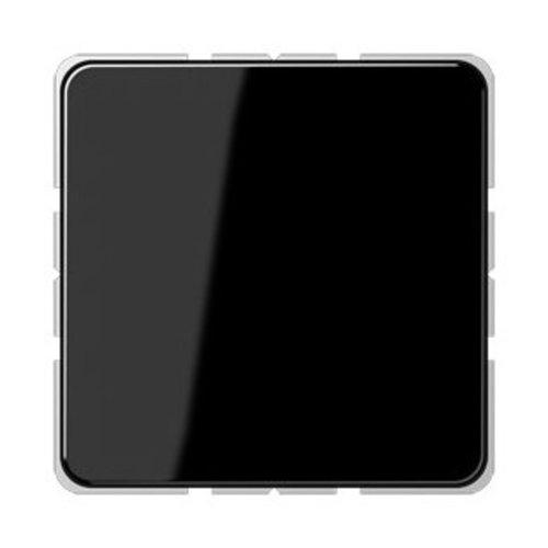 Jung Jung CD500 afdekking blindplaat zwart - CD594-0SW