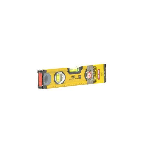 MVC Tools Aluminium Waterpas met 3 Libellen en Magneet - Lengte 30 cm.