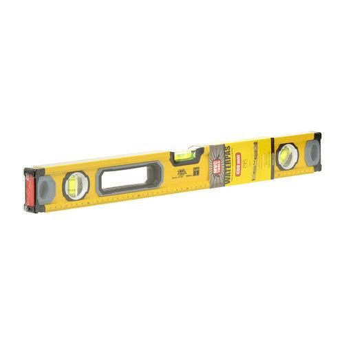 MVC Tools Aluminium Waterpas met 3 Libellen en Magneet - Lengte 60 cm.