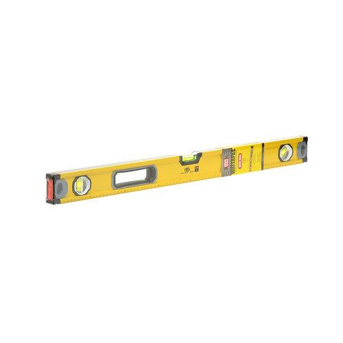 MVC Tools Aluminium Waterpas met 3 Libellen en Magneet - Lengte 80 cm.