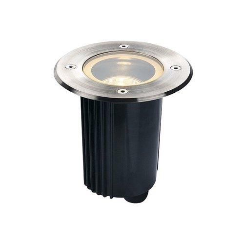 SLV SLV Dasar bodeminbouwarmatuur vloerspot rond hoogvolt halogeenlamp - 229320