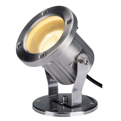 SLV SLV Nautilus spot hoogvolt halogeenlamp 25W ip55 gu10 - 229741