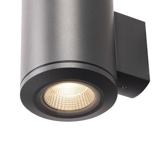 SLV SLV Wandlampen Pole Parc wandlamp anctraciet 1xled 3000K - 1000448