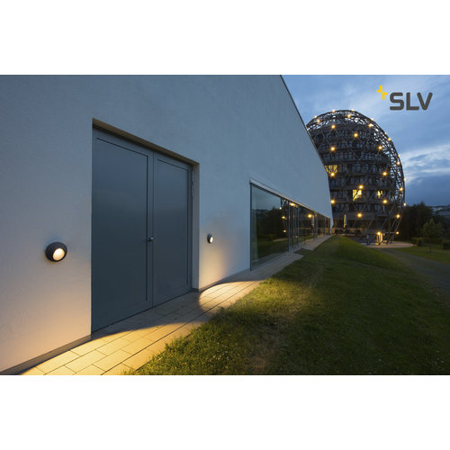 SLV SLV Delo armatuur led 3000K 5,8W 170LM 60MM ip55 - 227185