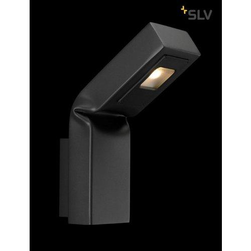 SLV SLV Wandlampen Bendo Antraciet wandlamp 1xled 3000K - 231865