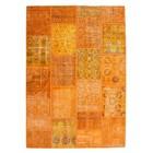 DF0062012-8 Oranje Vloerkleed