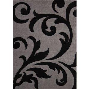Argent DF0062012-275 / Noir Tapis