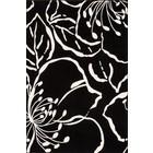 DF0062012-290 Zwart Vloerkleed