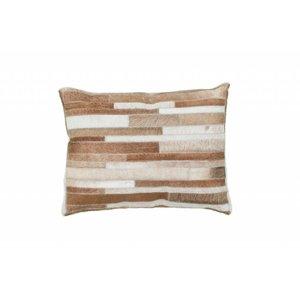 DF0062012-863 Cream Colorful Leather Ornamental Cushions