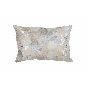 DF0062012-873 Gray / Silver Colorful Leather Ornamental Cushions
