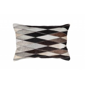 DF0062012-876 Gray Colorful Leather Ornamental Cushions