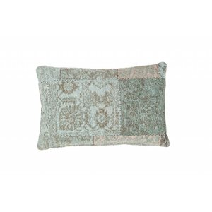 DF0062012-880 Turquoise Colorful Ornamental Cushion