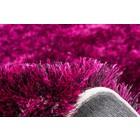 DF0062012-473 Paars / Zwart Vloerkleed