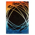 DF0062012-560 Noir / Orange Tapis