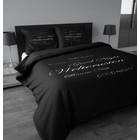 DF0062012-1133 DBO Welterusten Black/White - Zwart