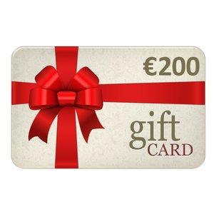 Chèques Cadeau € 200