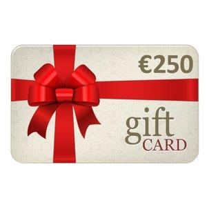 Chèques Cadeau € 250