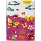 DF0062012-812 rose Tapis