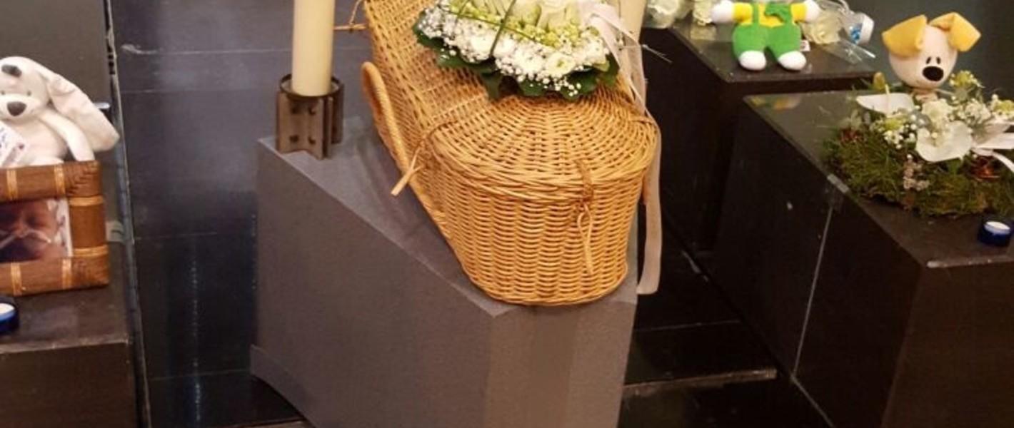 Dappere strijder- de Crematie