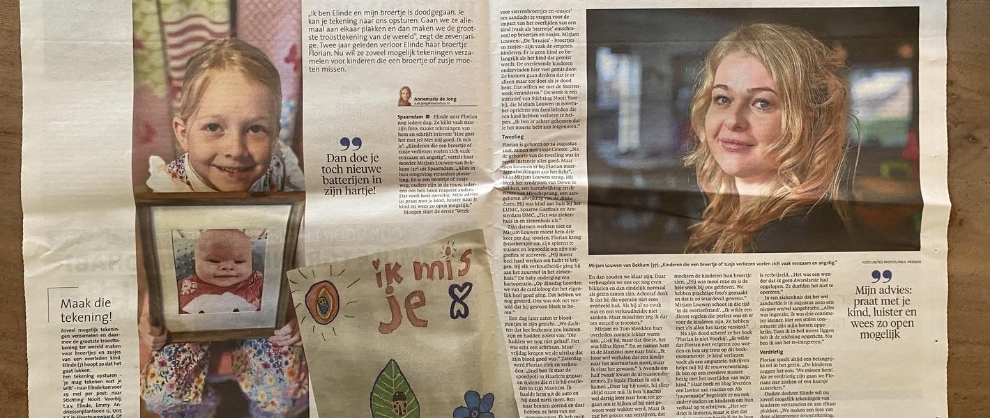 Interview met verschillende kranten