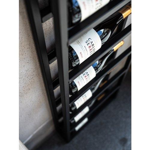 Wijnrek staal 6 flessen
