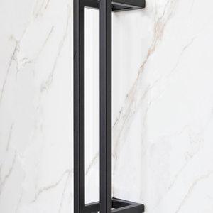 Staalo Luxe stalen toiletrolhouder