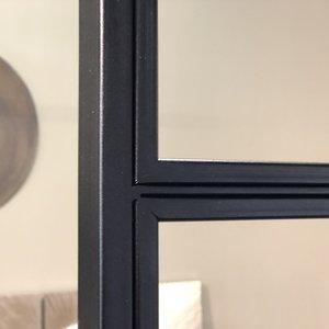 Enkele taatsdeur met 2 zijlichten - 2580x1840mm