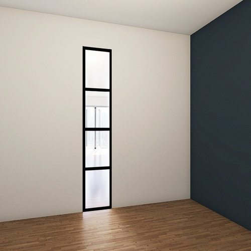 Vast stalen venster - 2580x455mm