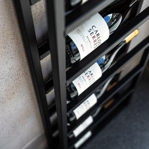 Staalo Wijnrek staal 10 flessen