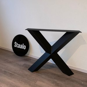 Staalo Tafelpoot X-Diamant