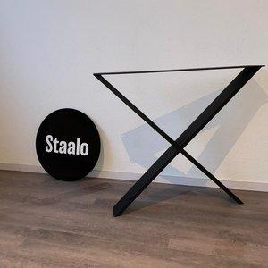 Staalo Tafelpoot X-Nuance